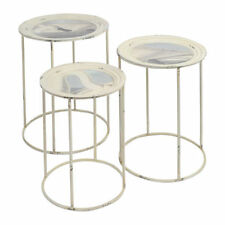 Metal Round Nested Tables