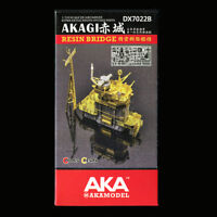 AKA 1/700 resin Bridge for IJN Aircarrier AKAGI  DX7022B