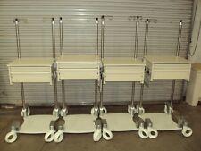 Herman Miller Healthcare Co/Struc Two Drawer Work Station Lab Cart Table Storage