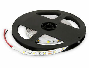 (3,98 Eur / M) LED Strip 5m Dimmable - 24W - 300x 3528 Rooflight Cold White