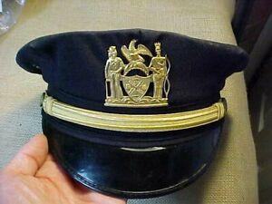 ORIGINAL 1960s NYPD CAP HAT