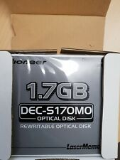 Pioneer DEC17GMO Optical Disk. Box of 5 Discs free Fedex or tracked shipping