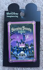 Disney WDI HKDL Cast Exclusive Fantasyland Poster Sleeping Beauty Castle Pin LE