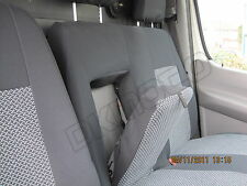 Tailored seat  covers for  VW CRAFTER 2012      1+2  grey2