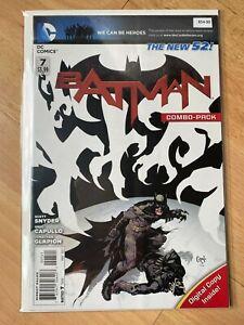 Batman 7 - Sealed Variant - High Grade Comic Book - B54-99