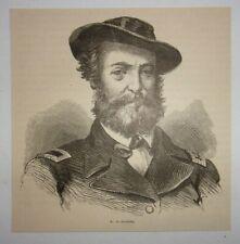 1866 W. D. Porter (Civil War) Engraving
