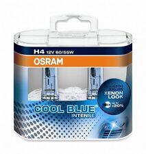 2 x Bombillas Osram Cool Blue Intense H4 4200K Faros Halogeno Lamparas Luz Coche