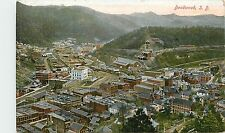 South Dakota, Sd, Deadwood, Bird's-Eye View 1910's Postcard