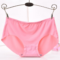 Women Soft Nylon Underpants Breathble Lingerie Briefs Hipster Underwear Panties