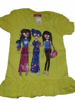 Girls Next Pink Yellow Top T shirt AGE 4yrs 5yrs, 6yrs, 7yrs