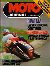 MOTO JOURNAL  321 HONDA 125 TL BPS Bultaco Sherpa YAMAHA TY MONTESA Cota TT 1977