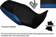 BLACK & ROYAL BLUE CUSTOM FITS HONDA XL 1000 V VARADERO 08-13 DUAL SEAT COVER