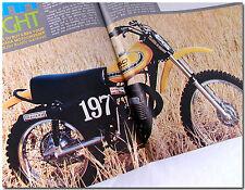 72 MAGAZINE YAMAHA YZ360 X-LIGHT HONDA RC125M SUPERBOWL OF MOTOCROSS KAWASAKI Z1