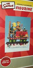 The Simpsons Train Piece Figurine Mr Burns Smithers Figure Rare Xmas Collectible