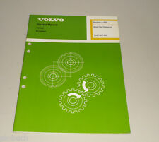 Service Manual Volvo 740 / 760 Baujahr 1986 New Car Features Stand 07/1985