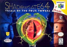 Shadowgate Four Towers Nintendo 64 N64 Authentic OEM Video Game Cart Rare Retro