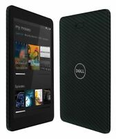 Skinomi Carbon Fiber Black Tablet Skin+Screen Protector for Dell Venue 8 Pro