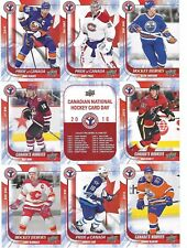 McDavid Domi RC Carey Price 2016 upper deck CNHCD uncut sheet Canada National