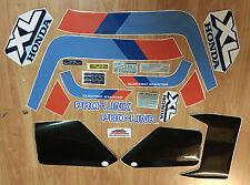 Honda XL 600 LM Kit completo con targhette - adesivi/adhesives/stickers/decal