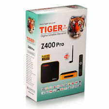 New Model Tiger IPTV Z400 PRO with Free 12-Month Arabic & International Channals