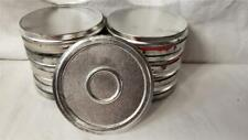 """Lot of 9 4"""" 16mm Movie Film Cans"""