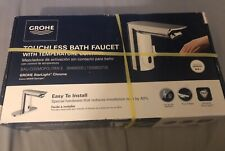 Grohe Bau Touchless Bathroom Faucet in StarLight Chrome Brand new Sealed