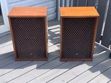 Vintage SANSUI SP-2500 3 Way 5 Speakers LOUDSPEAKERS PAIR SOUND FABULOUS