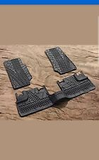 2007-2013 Jeep Wrangler JK Unlimited 4 Dr Mopar Slush Rubber Floor Mats
