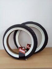 2 x Duro Weißwand Reifen 12 1/2 x1.75 x 2 1/4 Kinderwagen Roller+ 2 Schläuche AV