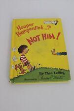 VINTAGE DR SEUSS Hooper Humperdink? Not Him!1976 Bright & Early 1st Print HC 🎁