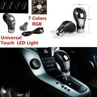Car Manual Automatic Gear Stick Shift Lever Knob Shifter Touch Activated RGB LED