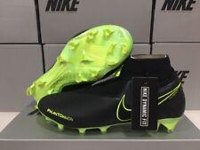 New Nike Men's Phantom Vsn Elite Fg Soccer Cleats (Black/Volt) Size: 11