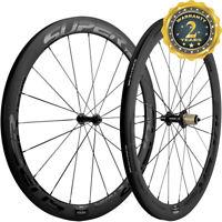 700C 50mm Carbon Wheels Road Bike/Bicycle Race Wheelset 3k Matte Shimano Cycle