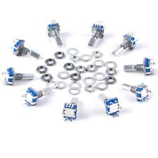 Top 12mm 10pcs Rotary Encoder Push Button Switch Keyswitch Electronic Components