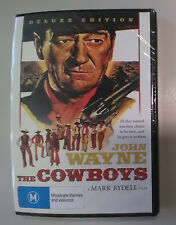 new sealed THE COWBOYS 1971 classic RARE DELUXE EDITION John Wayne OOP dvd HTF