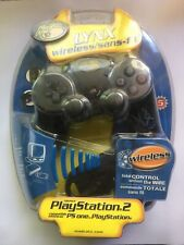 PS2 MadCatz LYNX WIRELESS CONTROLLER PLAYSTATION 2 BRAND NEW SEALED