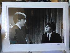 SIGNED Ringo Starr 4/25 Lennon McCartney Beatles photograph Genesis + COA