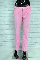 JECKERSON Pantalone Donna Taglia Size 30 Jeans Pants Woman Jeans Rosa Casual