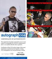 TAKASHI MIIKE signed Autographed 8X10 PHOTO F - EXACT PROOF - Director ACOA COA