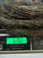 #22AWG Western Electric Heavy Waxed Copper Solid Cloth Wire 1634 M #639A