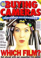 Buying Cameras magazine ,  May  1995   with Minolta X-9    tested