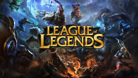 EUNE League of Legends LOL Account Smurf 40.000 - 85.000 BE Unranked Level 30