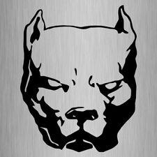 Pitbull Head Sticker Vinyl Car Dog Decal 280mm x 220mm #3 Large