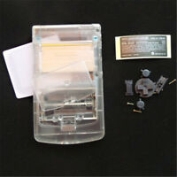 Clear White Crystal Full Housing Shell for Nintendo Game boy Color GBC OEM G
