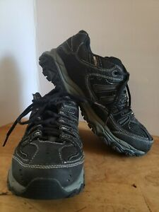 Skechers Afterburn Memory Foam Outdoor  Hiking Shoes Mens Sz 9