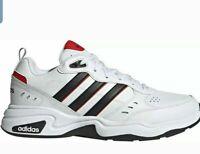 ADIDAS STRUTTER WIDE Men's Fashion Sneakers EG5140 White sz 9.5 - 12