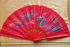 Tai Chi Eventail-éventail-Tai Ji Fan-abanico-Angebot-ventaglio-Dragon-Gaucher
