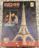 """WREBBIT 1995 Puzz-3D """"EIFFEL TOWER"""" 703 Pieces , Vintage, NEW and Sealed"""