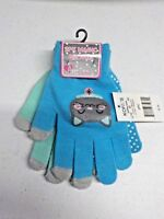 Girls One Size A22 Brand Turqoise and Mint Gloves 2 Pack New Nwt #10818
