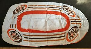 RARE A&W Root Beer Inflatable Pool Raft Float Boat 6 Ft Raft - New! Heavy Duty